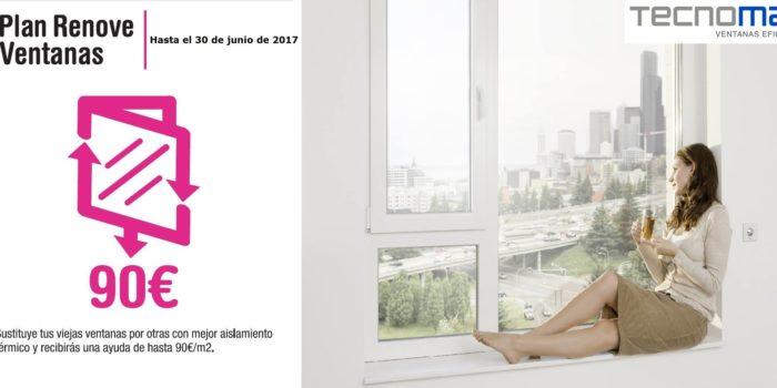 Plan renove de ventanas tecnomar 2017