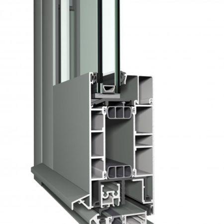 Tecnomar Puertas de Aluminio CS 77
