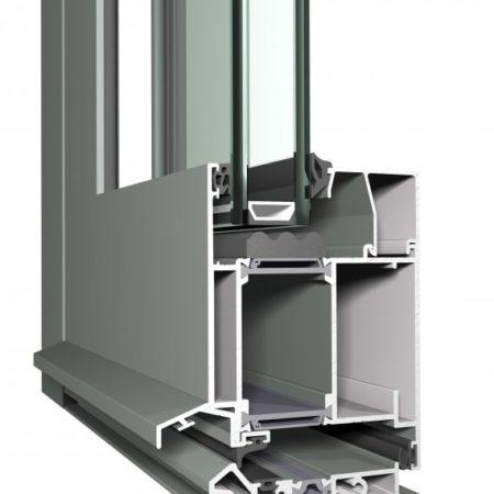 Tecnomar Puertas de Aluminio CS 86-HI