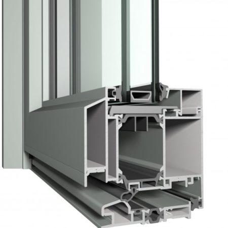Tecnomar Puertas de Aluminio Slim Line 38