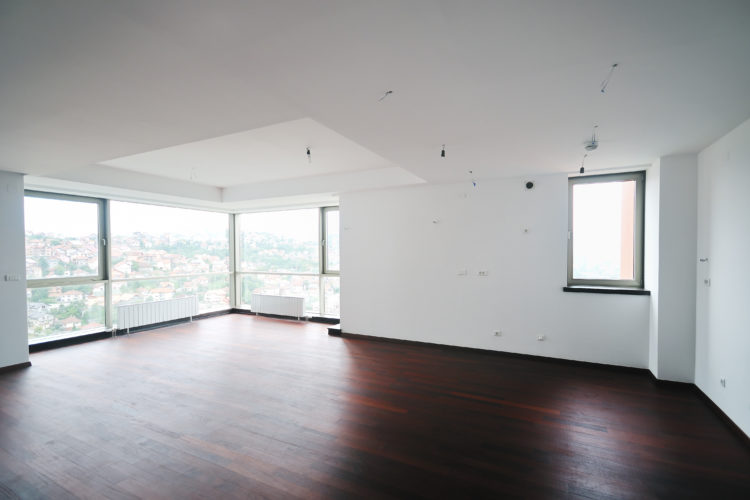 modern bright big empty  home apartment ready to buy or move in