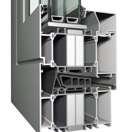 Tecnomar Puertas de Aluminio CS 104